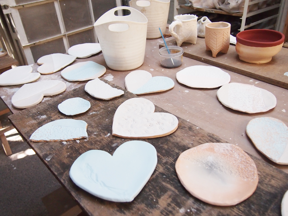 Stoneware Plates for December
