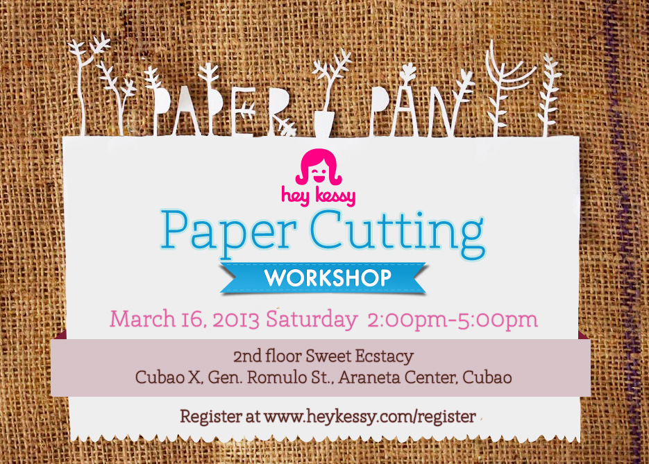 Paper Pan Workshop