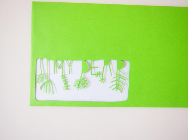 Papercut Envelope