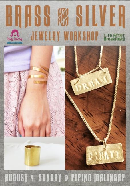 Brass + Silver Jewelry Workshop
