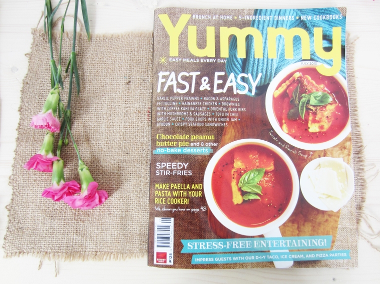 Yummy Magazine, July 2013
