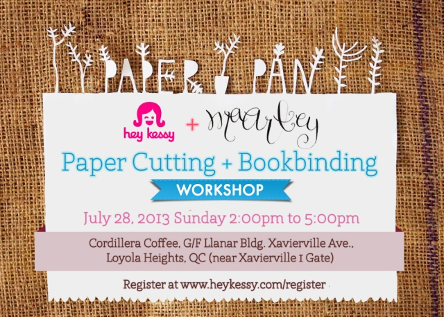 Papercutting + Bookbinding Workshop
